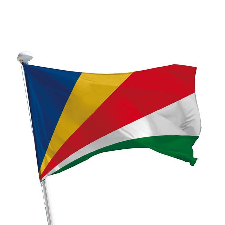 Drapeau des Seychelles pour mât