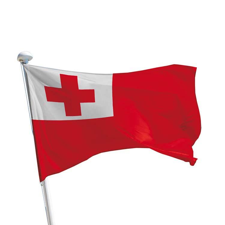 Drapeau Tonga pour mât