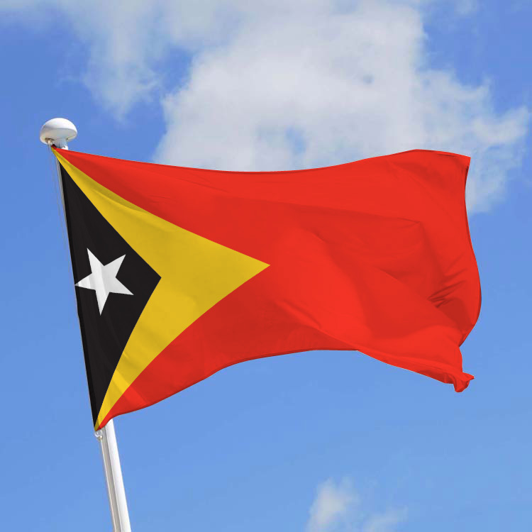 Pavillon Timor-Lesté