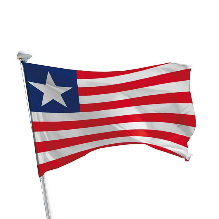 Drapeau Liberia pour mât