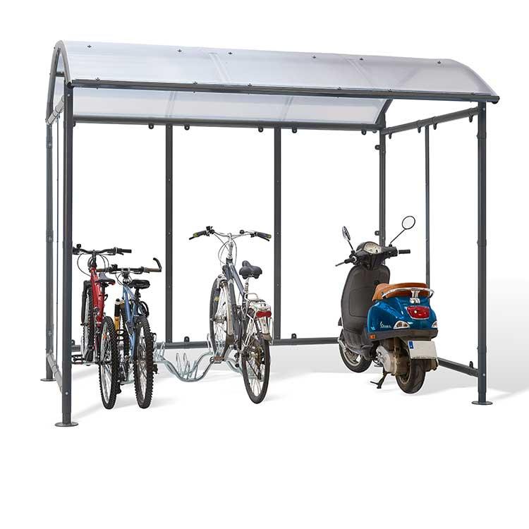Abri deux-roues Stockholm dôme vélos