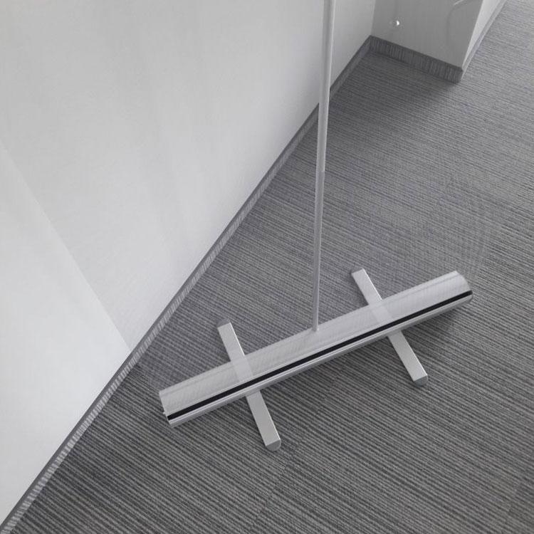 Vue prolongeante Enrouleur avec PVC transparent pour protection