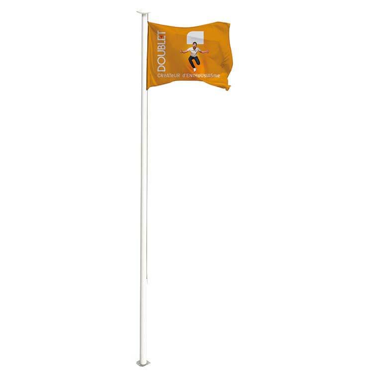 Mâts Fixes Pour Hisser Des Drapeaux Et Des Pavillons DOUBLET - Mat porte drapeau