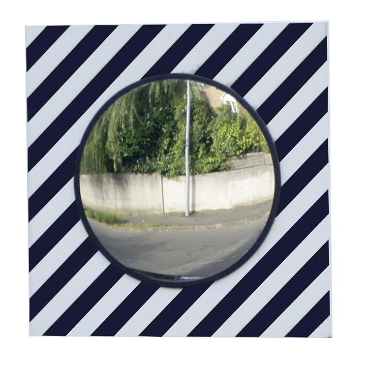 Miroir de sécurité pour voies publiques carré