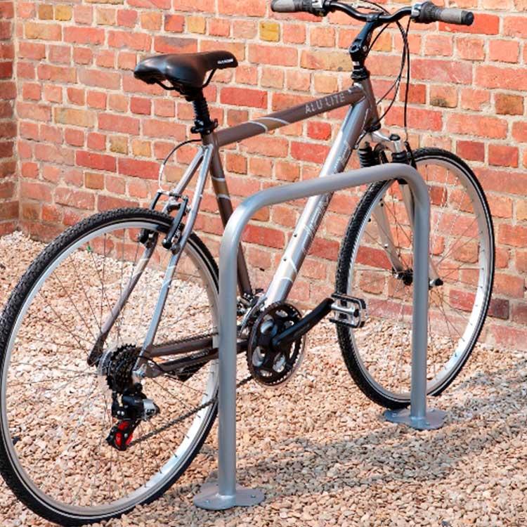 Lot de 2 arceaux simple vélos carré